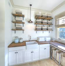 open shelving ideas designs ideas country laundry room with rustic open wall laundry