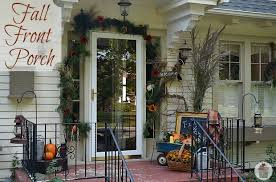 fall decorations for outside fall front porch decorating hoosier
