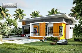 one storey house 2 car garage one storey house concept design eplans