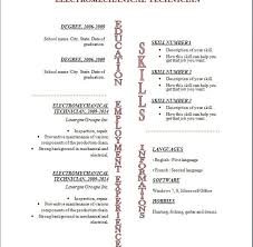 Free Resume Template Download Open Office Download Resume Template Open Office Haadyaooverbayresort Com