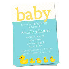 duck baby shower invitations cozy rubber duck baby shower invitations to make baby shower