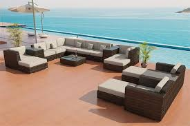 Wicker Sectional Patio Furniture by Sectional Sofa Outdoor Patio Furniture Set 25