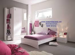 Zarollina Bedroom Set Desain Kamar Set Anak Minimalis Ungu Modern Simple Naura Konsep