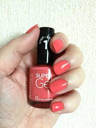rimmel super gel nail polish and super gel top coat is it really