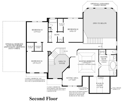 Large Master Bathroom Floor Plans Reserve At Chester Springs The Duke Home Design