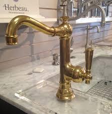 Antique Brass Kitchen Faucets Bronze Antique Brass Kitchen Faucet Single Hole Handle Pull Out