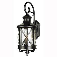 Bel Air Lighting Carriage House 2 Light Outdoor Oiled Bronze Coach