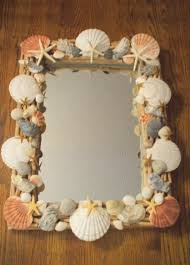 craft u2013 seashell embellished mirror the enchanted manor