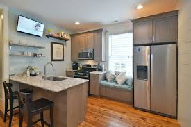 Traditional Kitchen With Breakfast Bar  Kitchen Peninsula - Kitchen cabinets pei