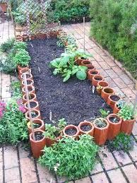 Garden Boarder Ideas Wooden Garden Borders Awesome Garden Bed Wooden Edging Ideas