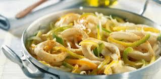 cuisine au gingembre calamars à l ail et au gingembre facile et pas cher recette sur
