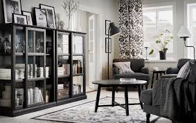 living room furniture ideas ikea ireland dublin a living room furnished with dark grey armchairs a black coffee table and two black