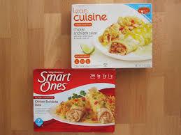 cuisine weight watchers frozen friday lean cuisine vs smart ones chicken enchilada