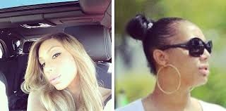real hair tamar braxton shows own hair and edges on instagram