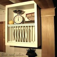 plate rack cabinet insert plate racks for cabinets celluloidjunkie me