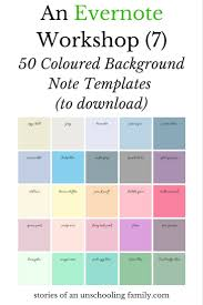 coloured templates an evernote workshop 7 50 coloured background note templates