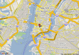 map ny city map downtown new york major tourist attractions maps