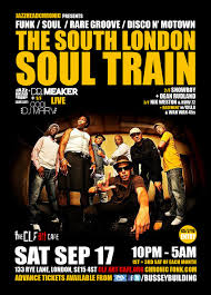 ra the south london soul train with jhc tom browne live disco