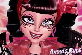 Halloween Monster High Makeup by Monster High Draculaura Ghouls Rule Makeup Tutorial Youtube