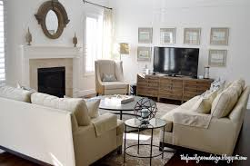 the family room i would like these two couches in a different