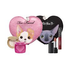 better together cheek u0026 lip makeup bag set too faced