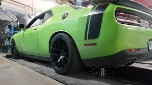 Dodge Challenger Tire Size - dodge challenger scatpack with 20x11 rears 305 35r20 nt555r youtube