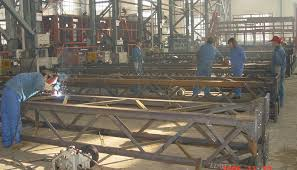 high strength prefab steel building structure for communication