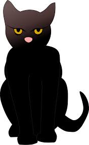 cat black free stock photo illustrated silhouette of a black
