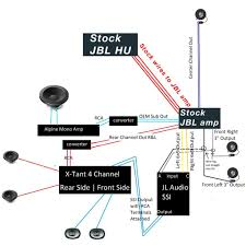 how to replace the jbl system while keeping oem headunit toyota