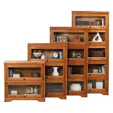 furniture home amazing barrister bookcase with glass door for