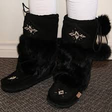womens fur boots canada s mid calf suede leather rabbit fur authentic india