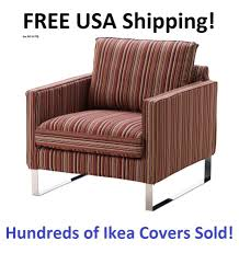 sofa slipcovers ebay ikea mellby chair armchair cover slipcover kulladal multicolor ebay