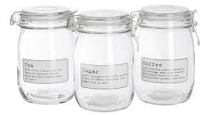 kitchen tea coffee sugar canisters storage white kitchen storage jars kitchen storage containers