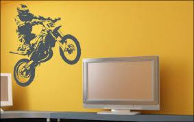 stickers chambre ado chambre deco moto cross visuel 2