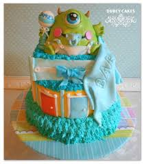 monsters inc baby shower cake 11 baby boy baby shower ink cakes photo monsters inc
