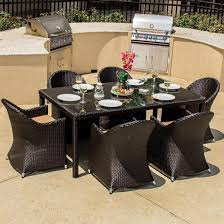 Patio Dining Set by Amazon Com Lakeview Outdoor Designs Providence 6 Person Resin