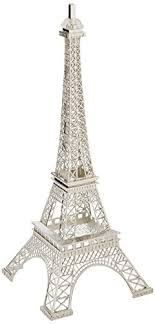 eiffel tower decorations eiffel tower decor display silver statue for a decor theme