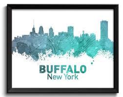 buffalo city print etsy