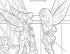 disney u0027s pirate fairy coloring pages sheet free disney