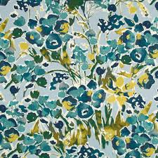 abstract floral upholstery fabric digital print fabric