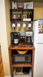 Apartment Kitchen Ideas Love How This Diy Microwave Coffee U0026 Pet Station Turned Out Diy