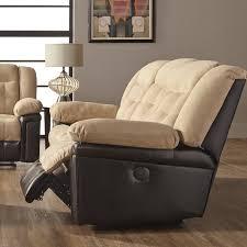 andover mills waddells leather manual sofa recliner u0026 reviews