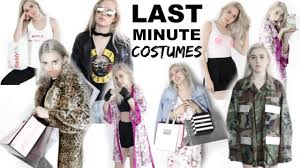 blazer halloween costume 17 last minute halloween costume ideas easy u0026 fast youtube