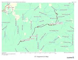 Michigan Breweries Map by Segment 16 Marshall Pass To Sargents Mesa Single Speeding On