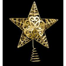Outdoor Lighted Christmas Star Decoration by Christmas Tree Toppers You U0027ll Love Wayfair