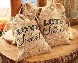 practical wedding favors personalized burlap bag wedding favor burlap bag party favors