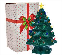 christmas staggering vintage ceramic christmas tree image