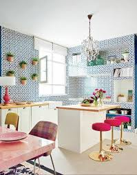 kitchen wallpaper designs 23 best kitchen wallpaper images on pinterest kitchen wallpaper
