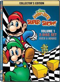 amazon super mario bros super show volume 1 mario u0026 luigi