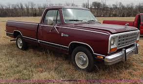Dodge Ram 85 - 1985 dodge ram d150 royal se pickup truck item i3724 sol